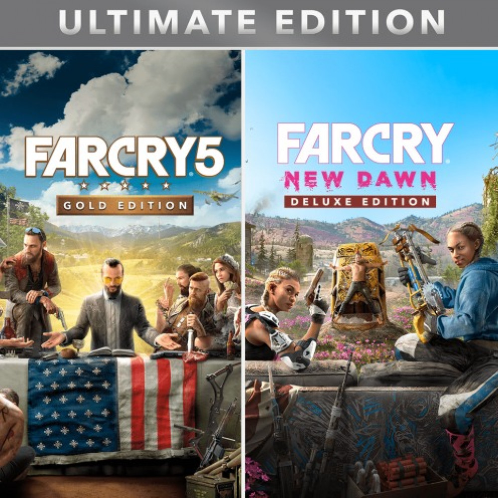 Rent Far Cry 5 (Deluxe) for PS4