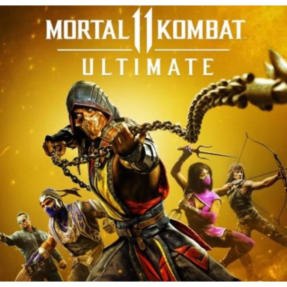 Rent Mortal Kombat 11: Ultimate for PS4