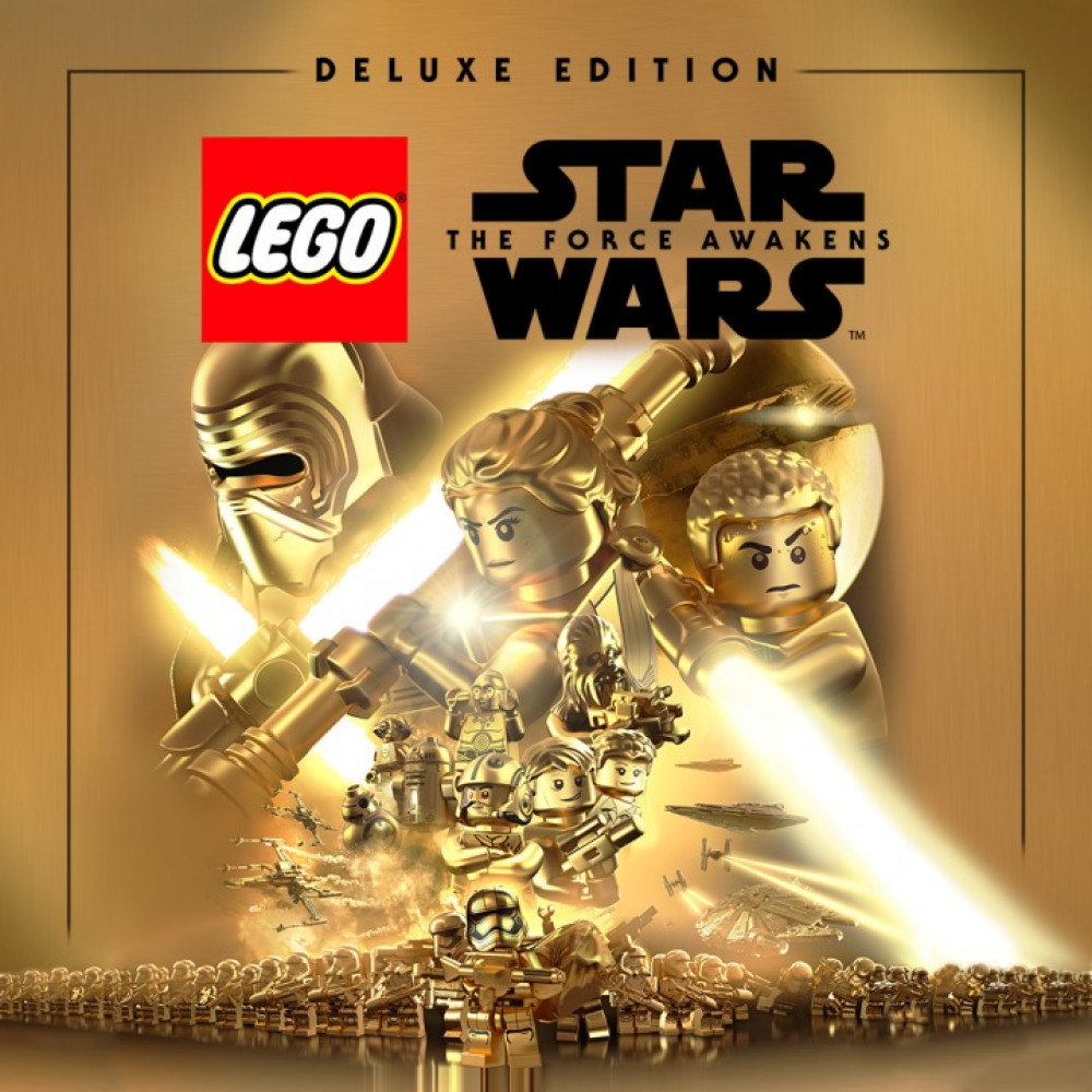 Rent LEGO Star Wars: The Force Awakens Deluxe Edition (All DLC) for PS4