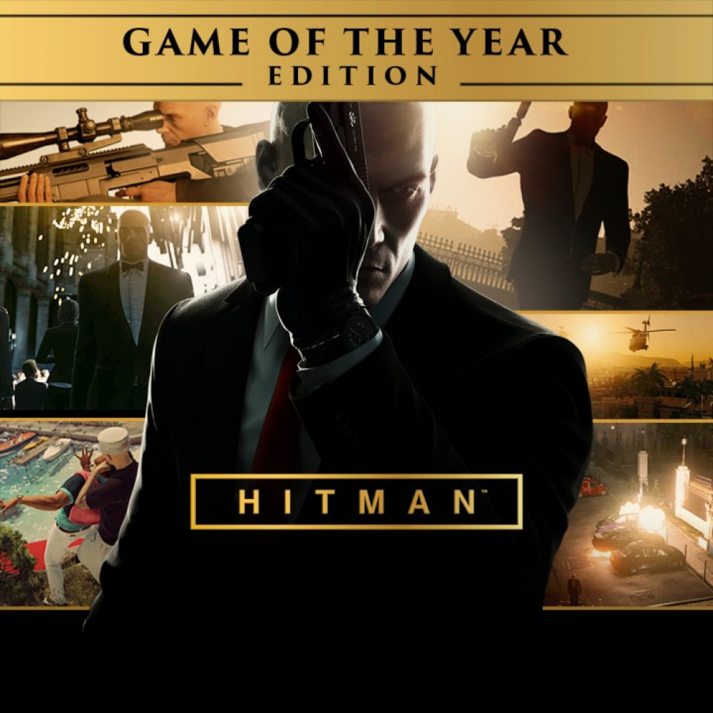 Rent Hitman Game of the Year Edition (All DLC) for PS4