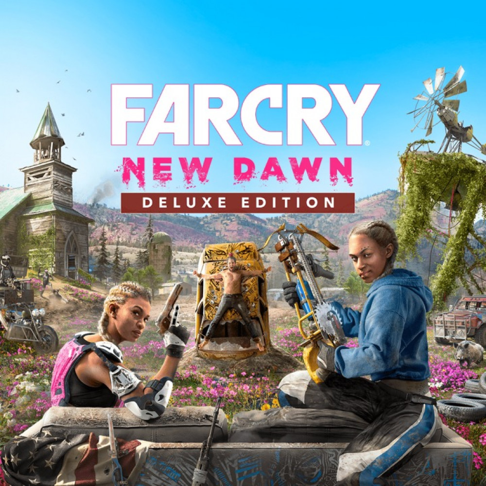 Rent Far Cry New Dawn  for PS4