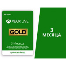 Xbox Live GOLD 3 месяца (Россия)