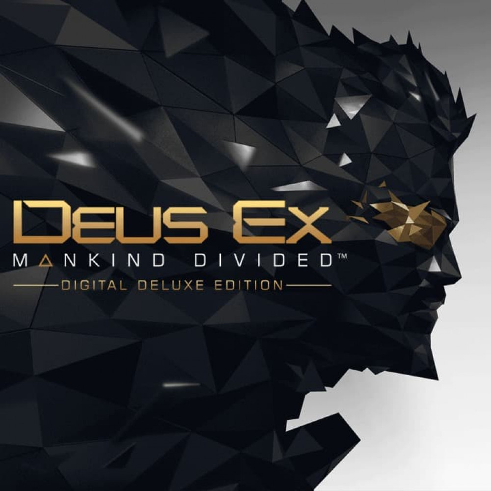 Rent Deus Ex: Mankind Divided Digital Deluxe Edition (All DLC) for PS4