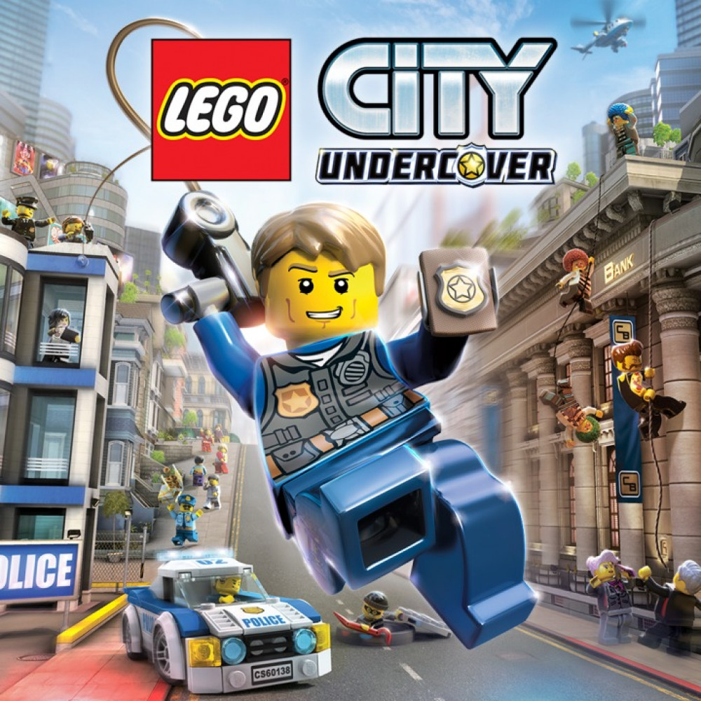 Rent LEGO CITY Undercover for PS4