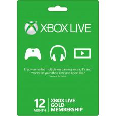 Xbox Live GOLD 12 месяцев (Россия)
