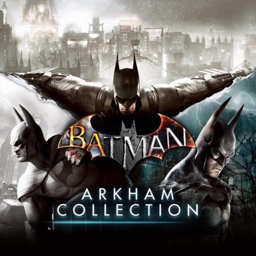 Rent Batman Arkham: 3 in 1 for PS4