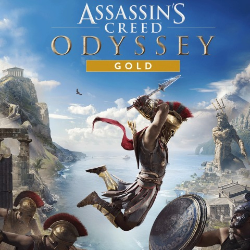 Rent Assassin's Creed Odyssey Gold Edition (All DLC) for PS4